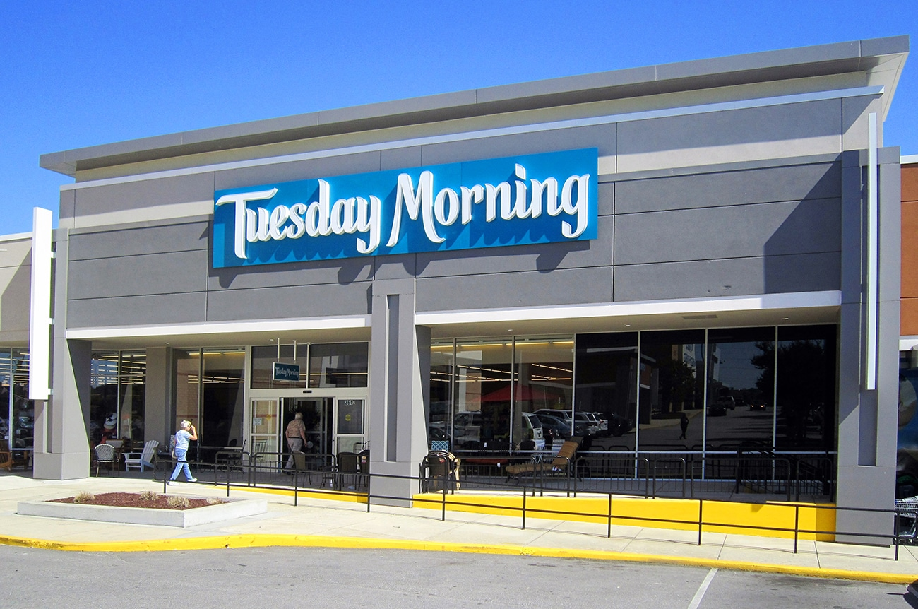 DDR Retail hired SCOPE to provide architectural services for this Tuesday Morning Store.